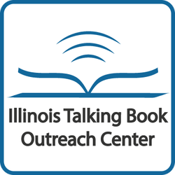 Illinois Talking Book Outreach Center Logo and Link